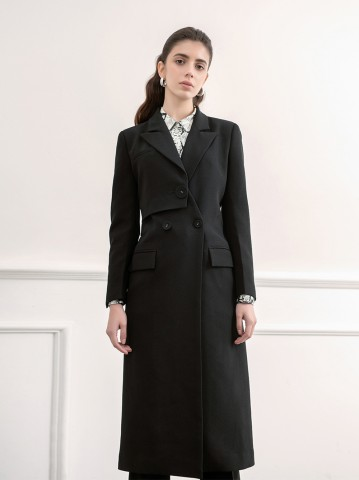LILY BLACK COAT