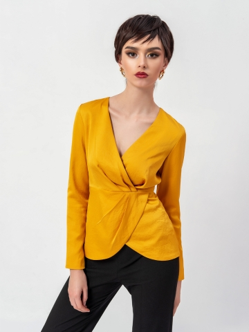 GIANNI SILK BLOUSE