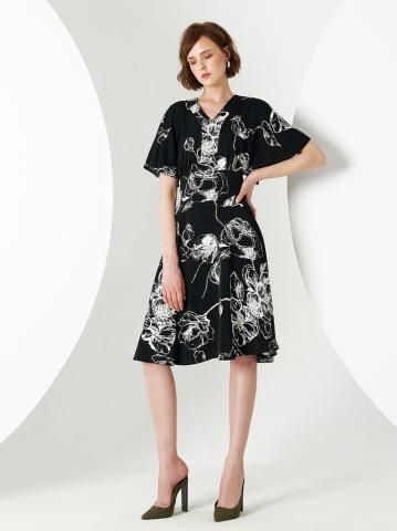 LIO FLORAL DRESS
