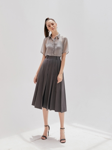 LEEMA PLEATED