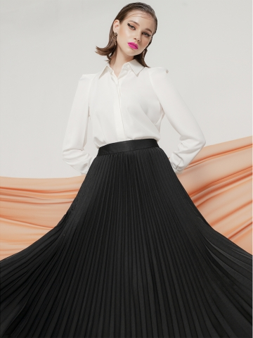 MACY PLEATED SKIRT